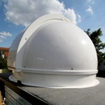Pulsar Sternwartenkuppel 2,2m mit Ring