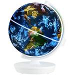 Im Nachtmodus zeigt der Globus 88 Sternkonstellationen.