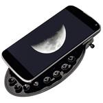 Der Adapter ist variabel einstellbar und schont durch die Polsterung das Smartphone.