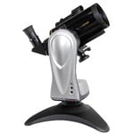 The Merlin table-top mount with a small Maksutov telescope. Such a compact telescope is quickly ready for captivating observing.