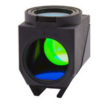 Optika LED Fluorescence Cube (LED + Filterset) for B-510LD4/B-1000LD4, M-1221, Green LED Emission 523nm, Ex filter 510-550, Dich 570, Em 575LP
