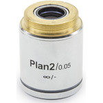 Optika M-1049, IOS W-PLAN 2X/0.08 microscope objective