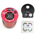 Caméra ZWO ASI 1600 MMC Cool Mono + EFWmini + LRGB 31mm Set