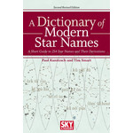 Sky Publishing Libro A Dictionary of Modern Star Names