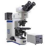 Microscope Optika B-1000MET, modèle 2, métallurgique (sans objectif), trinoculaire