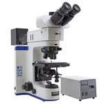 Optika Microscope B-1000MET, model 2, metallurgic (w.o. objectives), trino