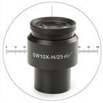 Euromex DX.6010-CM 10X/25mm SWF, micrometer, crosshair, Ø30 mm microscope eyepiece (for Delphi-X)