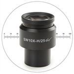 Euromex 10x/25 mm SWF, micrometro, Ø 30 mm, DX.6010-M (Delphi-X)