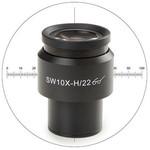 Euromex Oculaire 10x/22 mm, micromètre, réticule, Ø 30 mm, DX.6210-CM (Delphi-X)