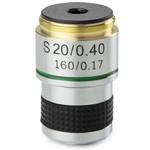 Euromex Obiettivo 20x/0,40 acromatico, parafocale 35 mm, MB.7020 (MicroBlue)