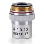 Euromex objetivo 4x/0,10, acro., DIN, EC.7004 (EcoBlue)