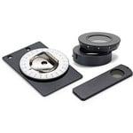Euromex Kit de polarisation, analyseur à insérer, petite platine tournante (100 x 65 mm) pour platine, AE.5158-P (EcoBlue, BioBlue)