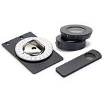 Euromex kit polarizzazione, analizzatore a slitta, unità girevole piccola (100x65 mm) per tavolino, AE.5158-P (EcoBlue, BioBlue)