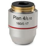Euromex BB.8804 4X/0.10 plan, DIN microscope objective (BioBlue.lab)