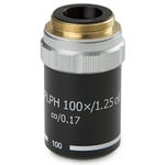 Euromex 100X/1.25 plan, phase-contrast, sprung, DIN, microscope objective BB.8900 (BioBlue.lab)