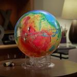 Sky Publishing Globus Mars topographisch
