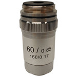 Optika 60X/0.80, achro, M-135 microcope objective