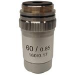 Optika objetivo 60x/0,80, acro., M-135