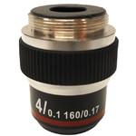 Optika Obiektyw 4x/0.10, wysoki kontrast, M-137