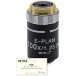 Optika Objective 100x/1.25 (OIL/WATER), infinity, plan, POL, ( B-383POL), M-148P