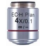 Objectif Motic EC-H PL, CCIS, plan, achro, 4x/0.1,  w.d. 15.9mm (BA-410 Elite)