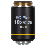 Motic EC PL, CCIS, plan, achro, NGC, 10X/0.25 w.d. 4.45mm microscope objective (BA-310 Elite)