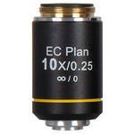Motic objetivo EC PL, CCIS, plan., acro., NGC, 10x/0,25 w.d. 4,45 mm (BA-310 Elite)