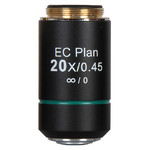 Motic Objective EC PL, CCIS, plan, achro, NGC  20x/0.45 w.d. 1mm (BA-310 Elite)