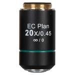 Motic objetivo EC PL, CCIS, plan, achro, NGC  20x/0.45 w.d. 1mm (BA-310 Elite)