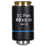 Motic EC PL, CCIS, plan, achro microscope objective, NGC 40X/0.65, S, w.d. 5mm (BA-310 Elite)