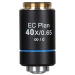 Motic objetivo EC PL, CCIS, plan., acro., NGC 40x/0,65, S, w.d. 5 mm (BA-310 Elite)