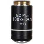 Motic objetivo EC PL CCIS, plan, achro, NGC 100x/1.25, S, Oil w.d. 0.15mm (BA-310 Elite)