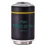 Motic objetivo PL Ph, CCIS, plan, achro, phase, 10x/0.25, w.d. 4.1mm, Ph1 (AE2000)