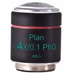 Motic Objective PL Ph, CCIS, plan, achro phase 4x/0.10, w.d.12.6mm Ph0 (AE2000)
