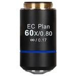 Motic Obiettivo EC PL, CCIS, plan, achro, 60x/0.80, S, w.d. 0.35mm (BA-210)