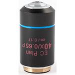 Motic Objective EC PL P, CCIS, plan, achro, (spannungsfrei) 40x/0.65, S, w.d. 0.5mm (BA-310 POL)