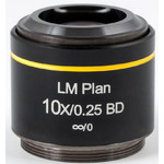 Motic Objective LM BD PL, CCIS, LM, plan, achro, BD 10x/0.25, w.d.16.3mm (AE2000 MET)