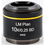 Objectif Motic LM BD PL, CCIS, LM, plan, achro, BD 10x/0.25, w.d.16.3mm (AE2000 MET)