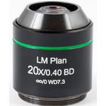 Motic Obiettivo LM BD PL, CCIS, LM, plan, achro, BD 20x/0.4 w.d.7.3mm (AE2000 MET)