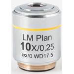 Objectif Motic LM PL, CCIS, LM, plan, achro, 10X/0.3, w.d.17.5mm (AE2000 MET)