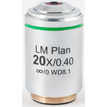 Motic Obiettivo LM PL, CCIS, LM, plan, achro, 20x/0.4, w.d 8.1mm (AE2000 MET)