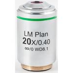 Objectif Motic LM PL, CCIS, LM, plan, achro, 20x/0.4, w.d 8.1mm (AE2000 MET)