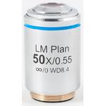 Motic Obiettivo LM PL , CCIS, LM, plan, achro, 50x/0.55, w.d.8.4mm (AE2000 MET)