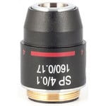 Motic Obiettivo SP semiplan achro, 4X/0.10 w.d.=17mm (RedLine200)