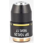 Motic Obiettivo SP semiplan achro,  10X/0.25  w.d=6.4mm (RedLine200)