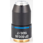 Motic Obiettivo SP semiplan achro,  60X/0.85, S, w.d=0.1mm (RedLine200)