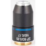 Motic Objective SP semiplan achro,  60X/0.85, S, w.d=0.1mm (RedLine200)