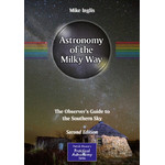 Springer Carte Astronomy of the Milky Way - The Southern Sky