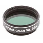 """Explore Scientific Filtre Filtru verde inchis #58A 1.25"""""""