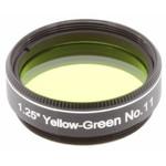 "Explore Scientific Filtro amarillo-verde #11 1,25"""